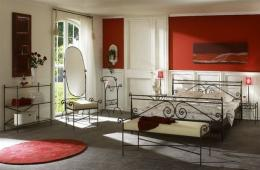 Kovová postel Arabela 200x200 cm