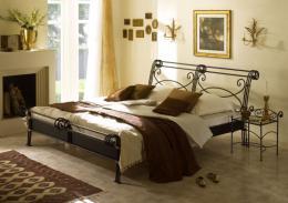 Kovová postel Bella Grande 200x200 cm