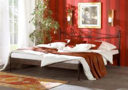 Kovová postel Rio 140x200 cm