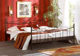 Kovová postel Rio Grande 200x200 cm