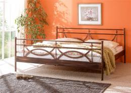Kovová postel Toscana 200x200 cm