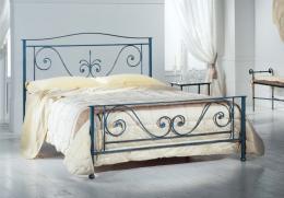 Kovová postel Dagmar 140x200 cm