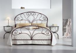 Kovová postel Klaudie 140x200 cm