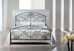 Kovová postel Hermína 140x200 cm