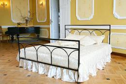 Kovová postel Saskie 180x200 cm - DOPRAVA ZDARMA - zvìtšit obrázek
