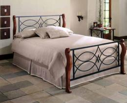 Kovová postel Viola 200x200