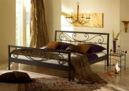 Kovová postel Verena 140x200