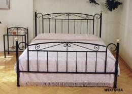 Kovová postel Viktorie 140x200 cm