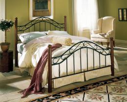 Kovová postel Lýdie 140x200