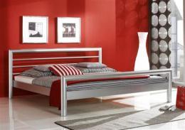 Kovová postel London 200x200 cm