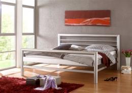 Kovová postel Manchester 200x200 cm - DOPRAVA ZDARMA