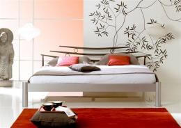 Kovová postel Shanghai 90x200 cm