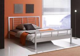 Kovová postel Wien 200x200 cm