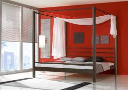 Kovová postel Lara 140x200